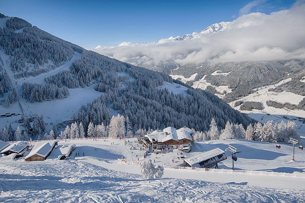 Panoramica Klausberg sotto la neve
