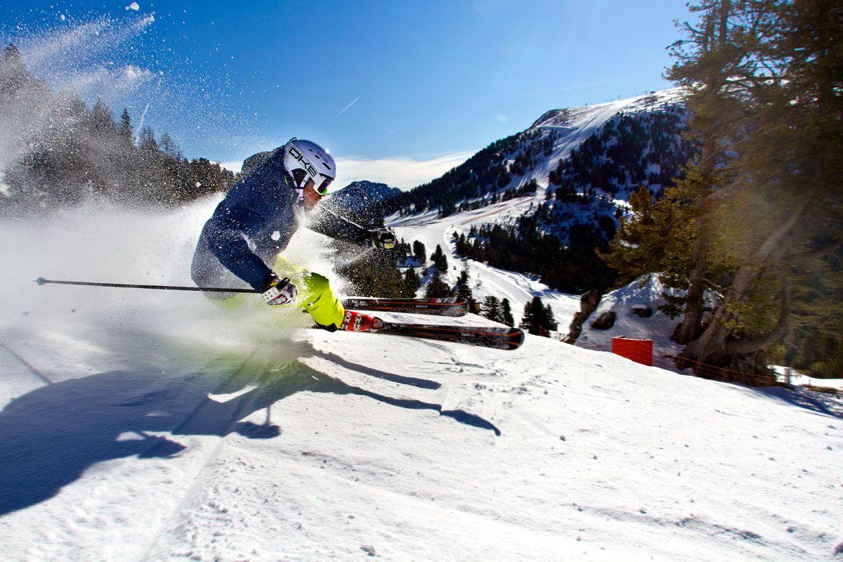 salti sugli sci a Obereggen