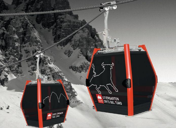 Collegamento Monte Elmo - Croda Rossa, ripartono i lavori