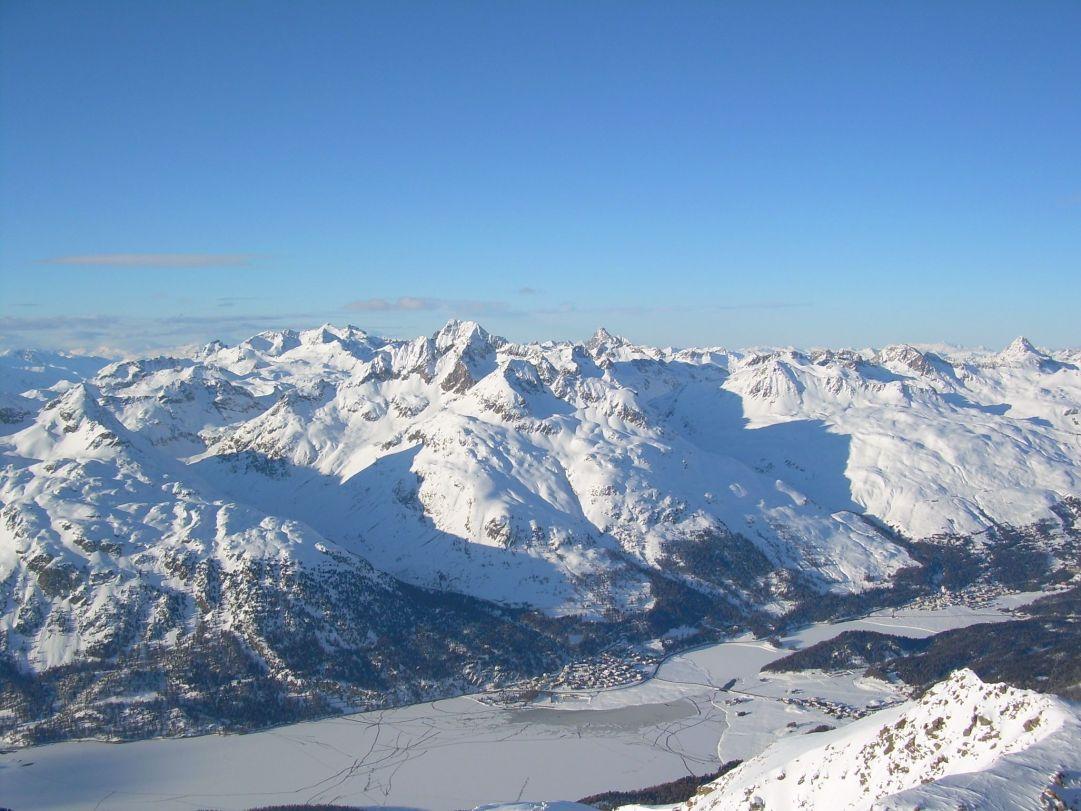 Vista dal Corvatsch