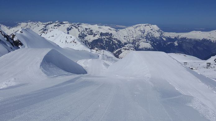 ghiacciao Les2alpes 22.05.18
