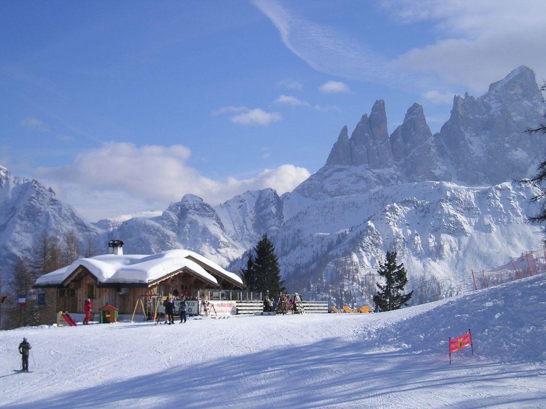 Fantastico posto per tutti gli appasionati di sci!!!