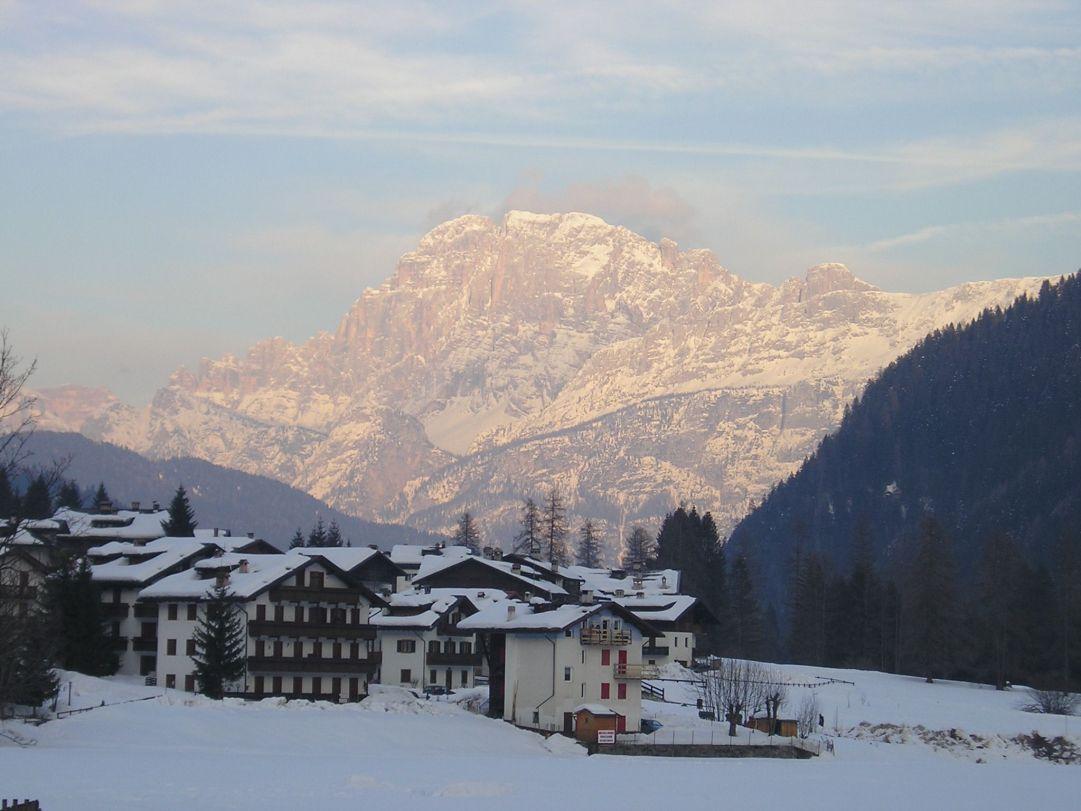 Non siamo sulle piste da sci.....na il paesaggio è sempre incantevole :-)