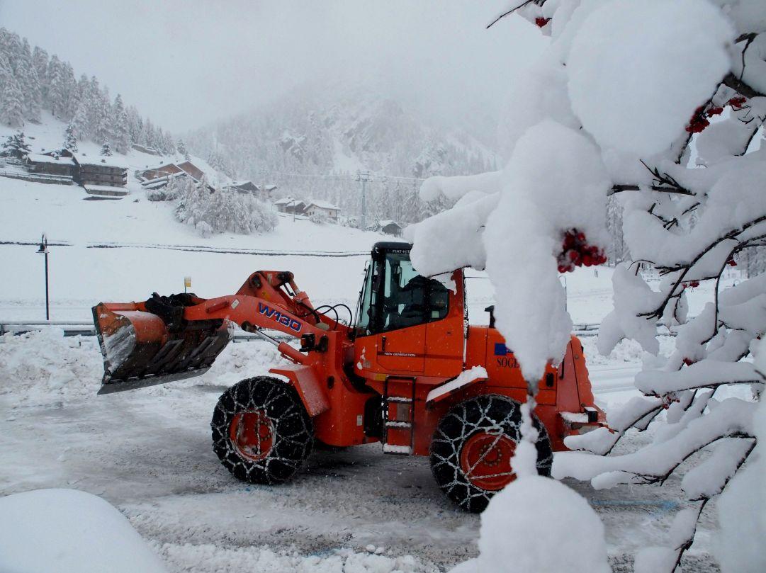 gressoney  nevicata  29  novembre  2012  02 roberto cilenti