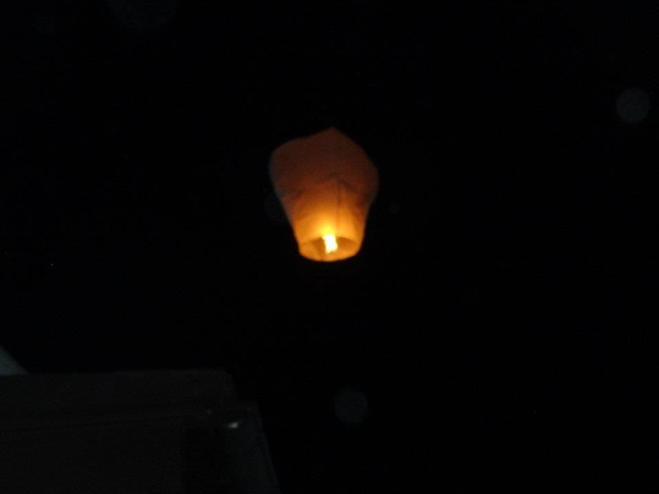 Lanterna in cielo...
