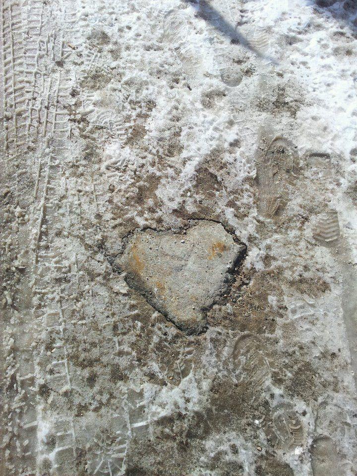 Un cuore incastonato...