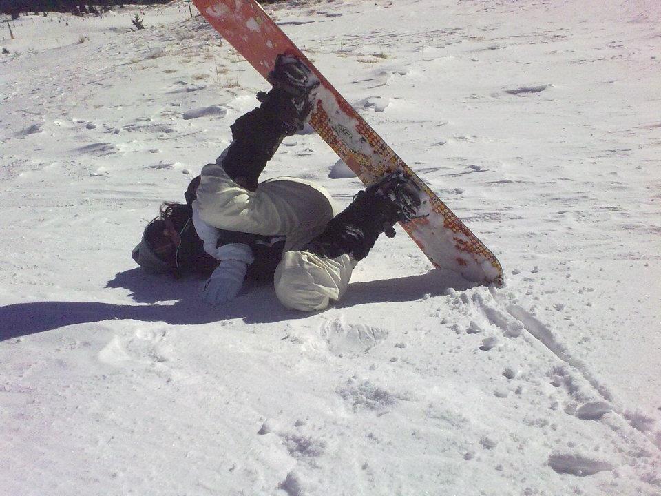 Una caduta bizzarra,la mia!