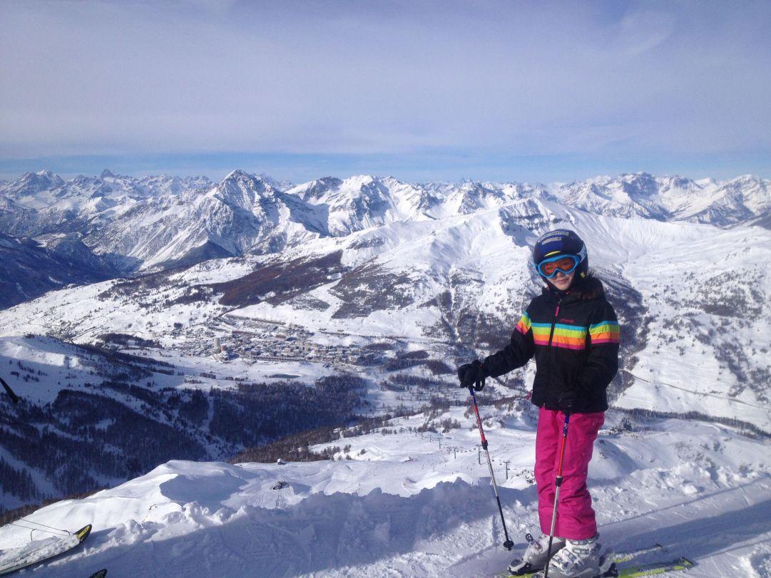gran bella giornata di sci....