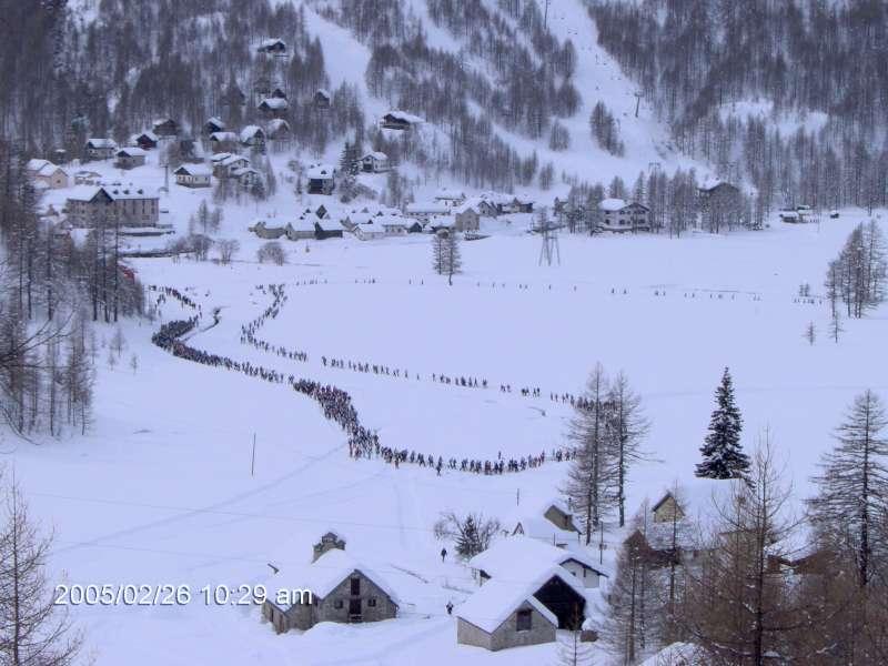 All'Alpe Devero la decima 'Traccia bianca'