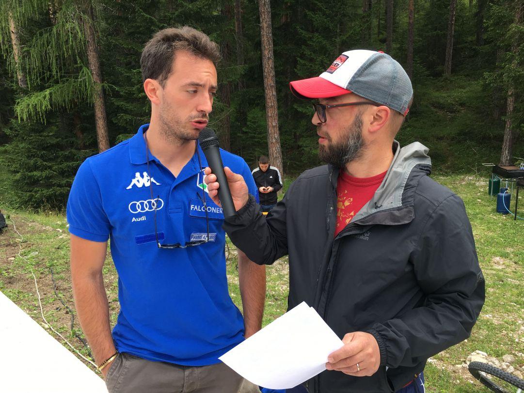Il grande assente delle gare di Cortina è stato senza dubbio Mattia Gaspari. L'ampezzano dopo due stagioni di stop sta ritornando pian piano ai carichi di allenamento pre-rottura del tendine d'Achille ed è più carico che mai di tornare in pista