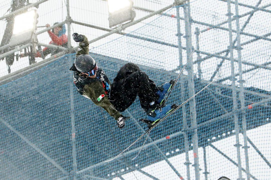 L'azzurro Leonardo Donaggio nella qualificazione  Photo by Michele Dardanelli