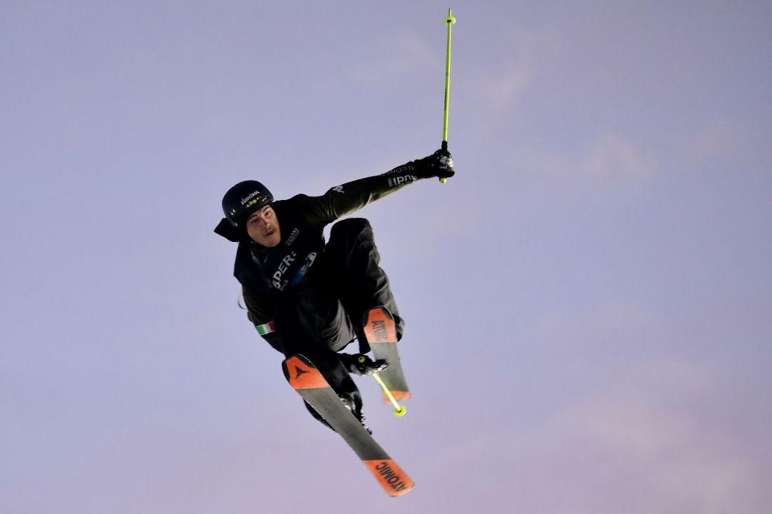 Grande spettacolo a Skipass Modena Fiere dove nel weekend sono andate in scena due gare di Coppa del Mondo di Freestyle specialità Big Air. Buona prova pure per l'azzurro che ha chiuso al decimo posto  Photo by Michele Dardanelli