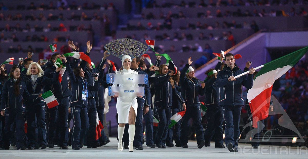 7 gennaio 2014 Apertura XXII Giochi Olimpici Invernali  Sochi 2014  © Getty Images
