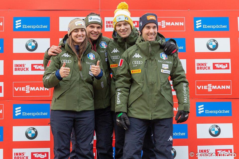 Italia sugli scudi ad Igls: vittoria nel Team Relay e terzo posto per Dominik Fischaller
