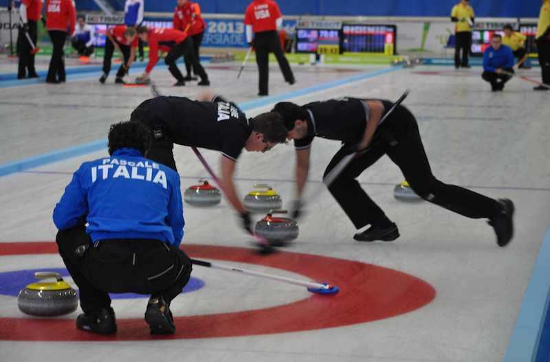 Universiadi, tre sconfitte per l'Italia nel curling