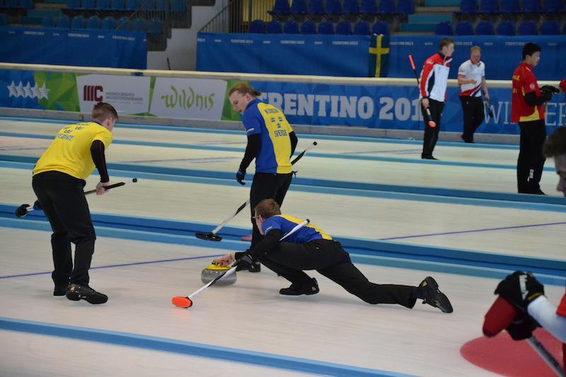 Svezia oro nel torneo maschile di curling delle Universiadi