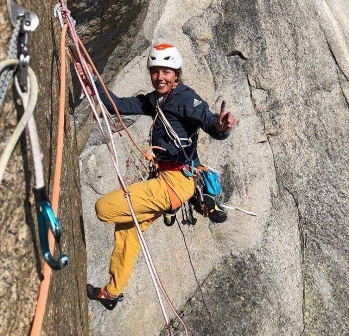 """Simone Moro: """"Laura Dahlmeier può diventare una forte alpinista"""""""
