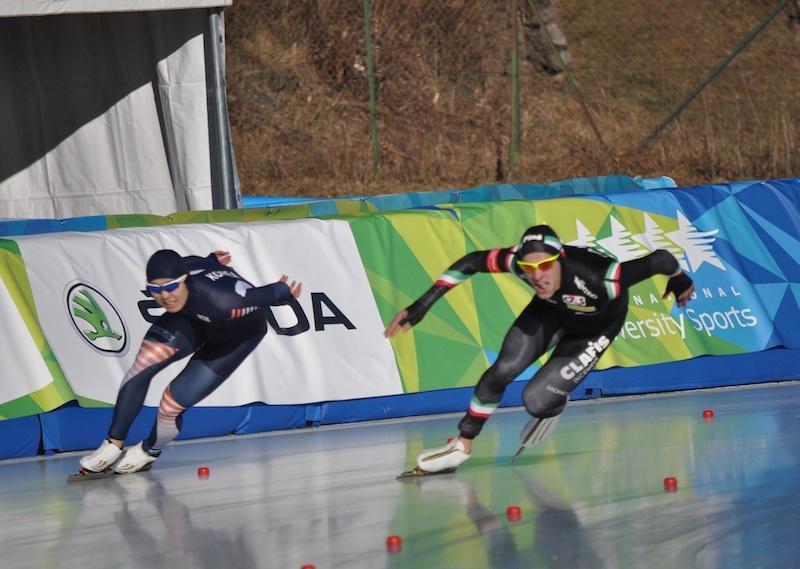 Mirko Giacomo Nenzi argento nei 500 metri del pattinaggio di velocità delle Universiadi