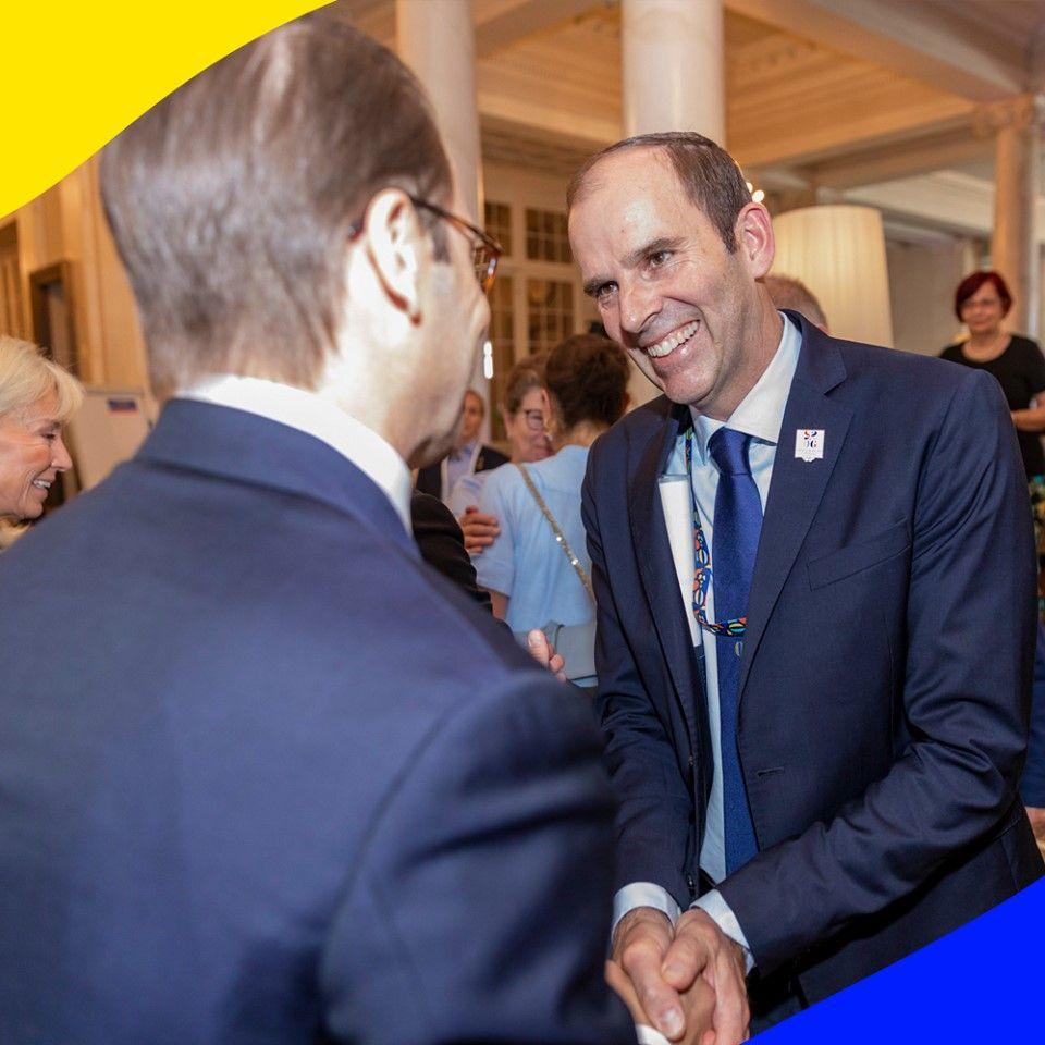 A Losanna è presente pure il primo ministro svedese, Stefan Lofven che ha garantito il massimo sostegno del governo alla candidatura di Stoccolma-Aare