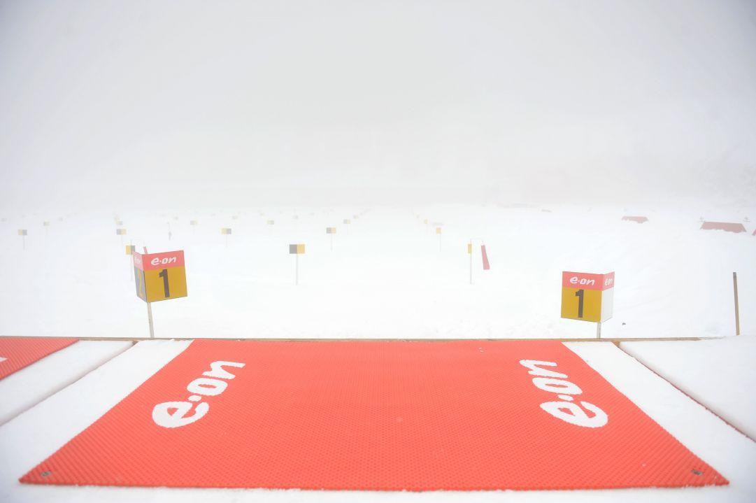 Mass start maschile ritardata di un'ora per nebbia
