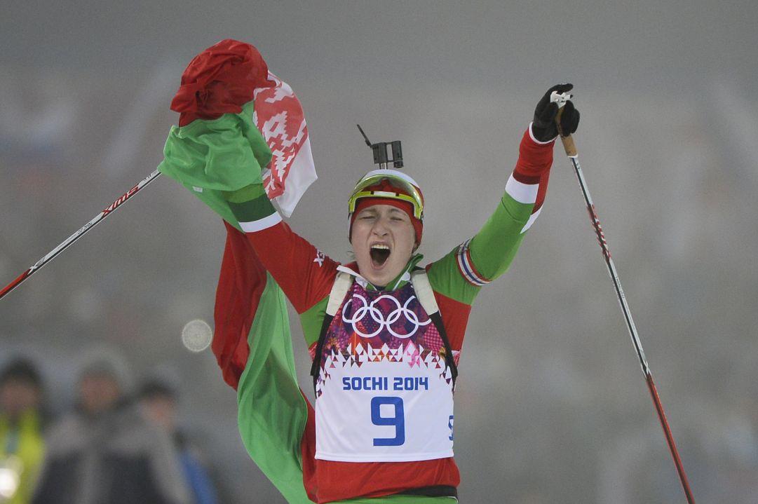 Una sontuosa Darya Domracheva conquista il suo primo oro olimpico