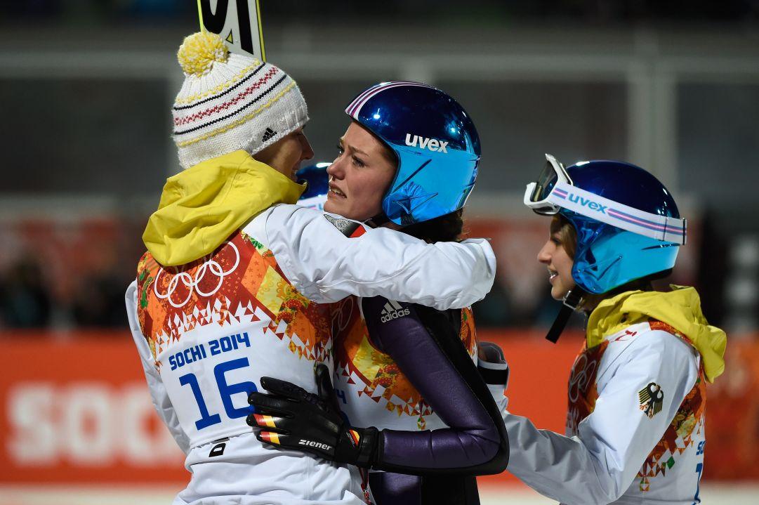 Carina Vogt vince l'oro olimpico. Takanashi fuori dal podio! Insam splendida quinta