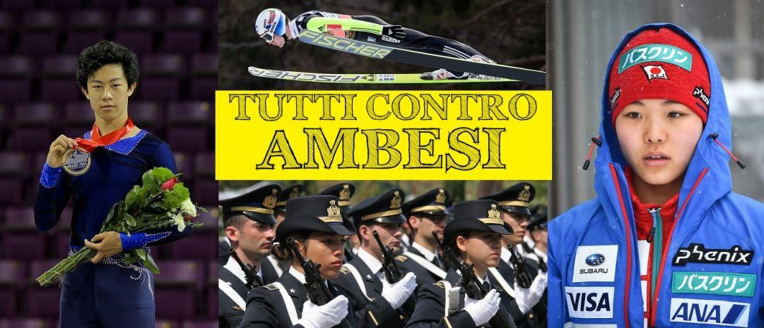 Accorata difesa dei gruppi sportivi militari nel sistema dello sport italiano nell'ottava puntata di Tutti contro Ambesi