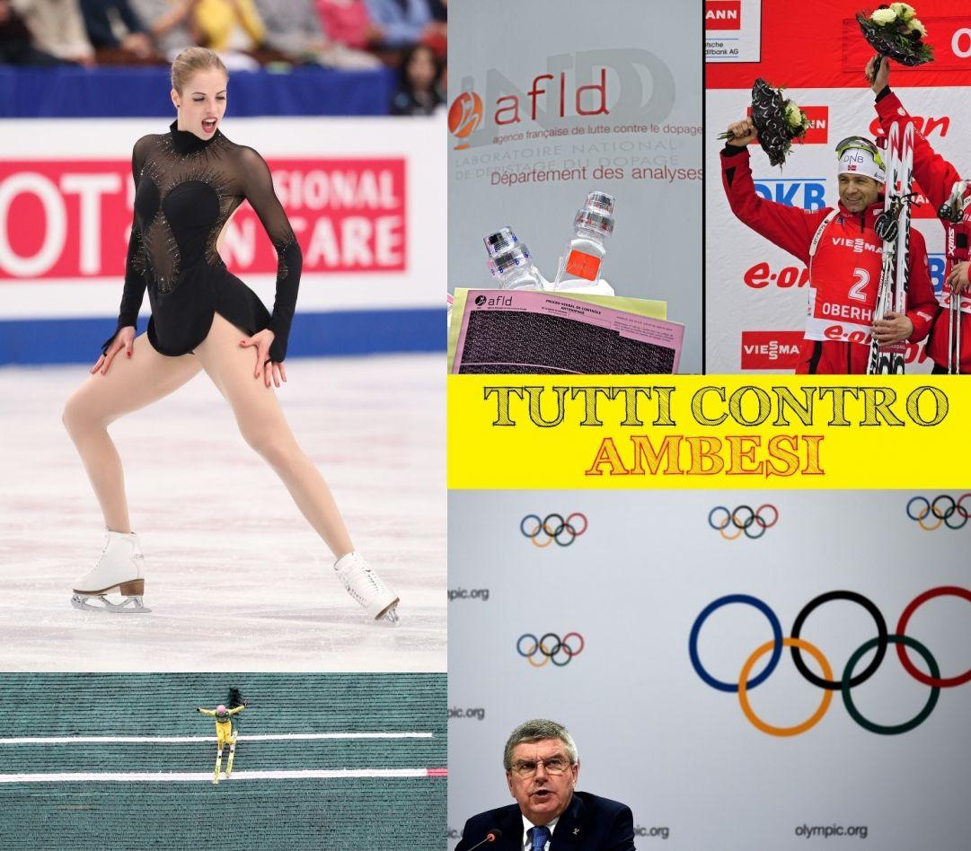 Lo sciacallaggio in tema di doping infiamma la quinta puntata di 'Tutti Contro Ambesi'