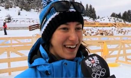 Lisa Vittozzi argento nell'individuale, oro per l'austriaca Julia Schwaiger