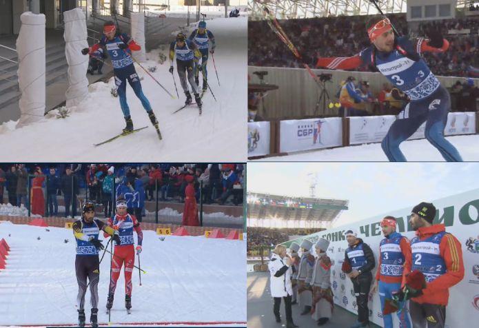 Anton Shipulin manda in visibilio Tjumen vincendo la mass start maschile della 'Gara dei Campioni'