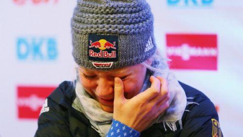 Miriam Gössner annuncia in lacrime: 'Stagione finita, rinuncio a Sochi'