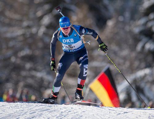 Lukas Hofer e Karin Oberhofer vincono le sprint degli Assoluti di Forni Avoltri