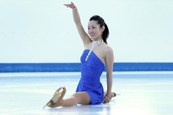 Shizuka Arakawa capitana del team asiatico nella Kosè Team Challenge Cup