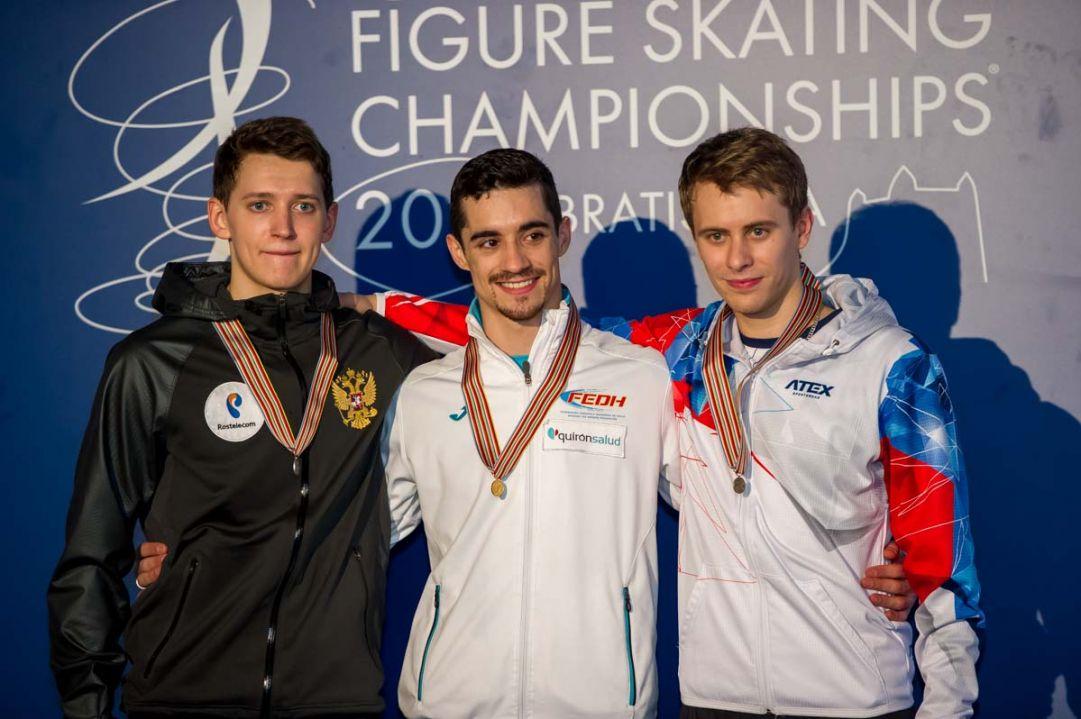 Europei Bratislava - programma libero maschile, ordine e orari discesa sul ghiaccio