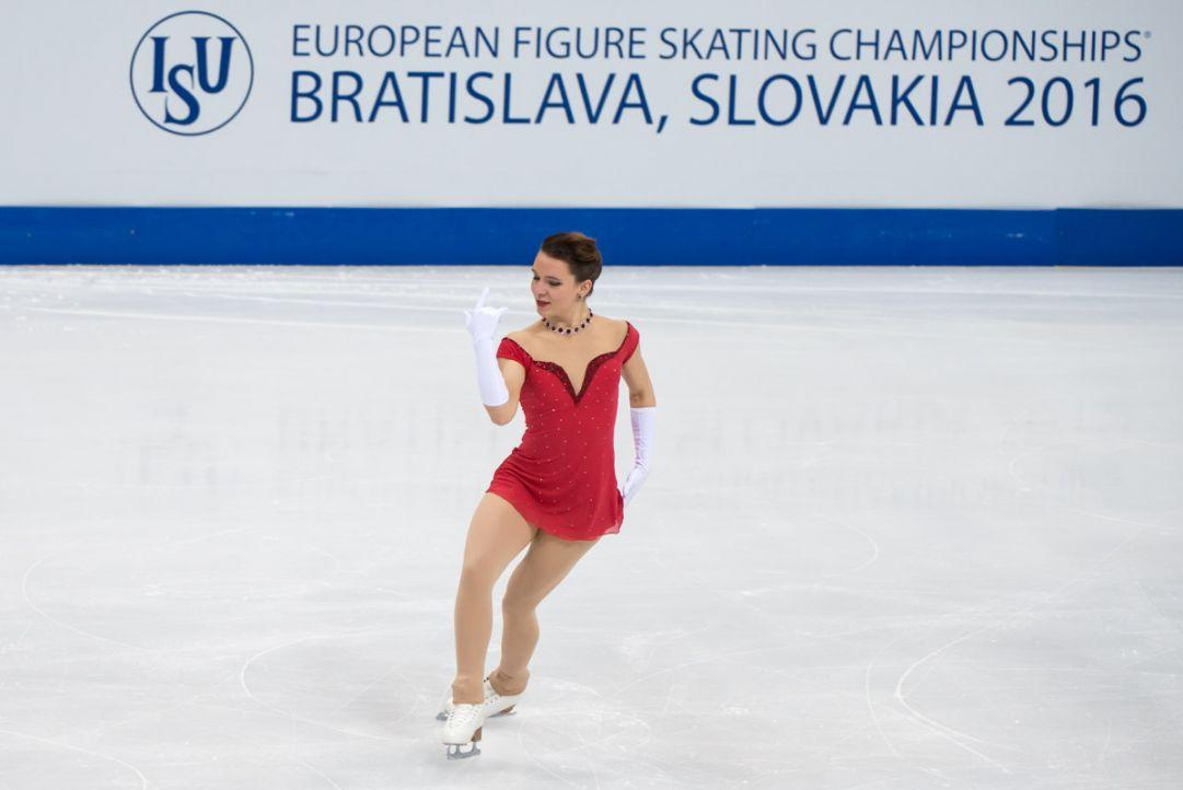 Europei Bratislava - Rodeghiero ottima quarta nel corto vinto dalla favorita Medvedeva