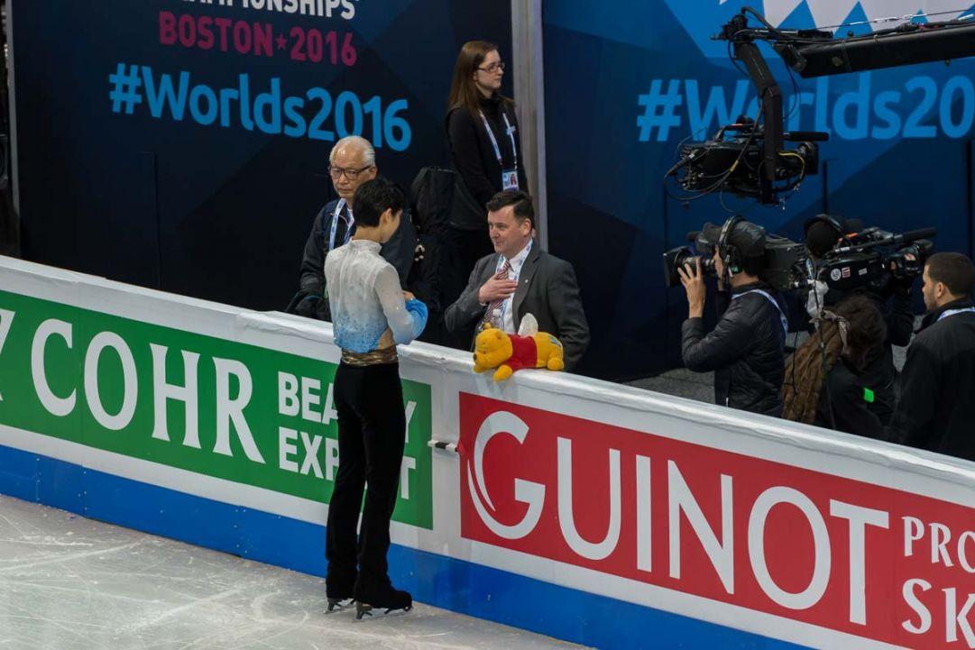 Mondiali Boston - programma libero maschile, ordine di discesa sul ghiaccio con orario