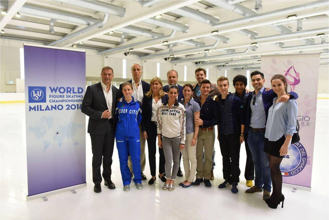 Milano capitale mondiale del pattinaggio di figura nel 2018