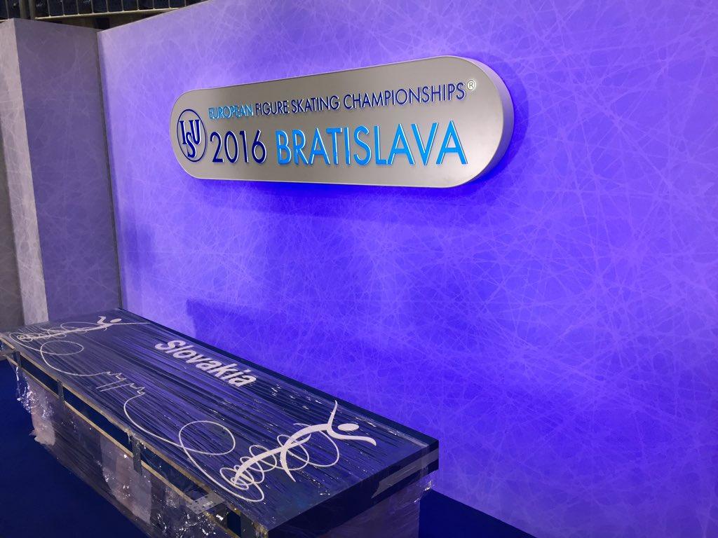 Vademecum dei Campionati Europei di Bratislava