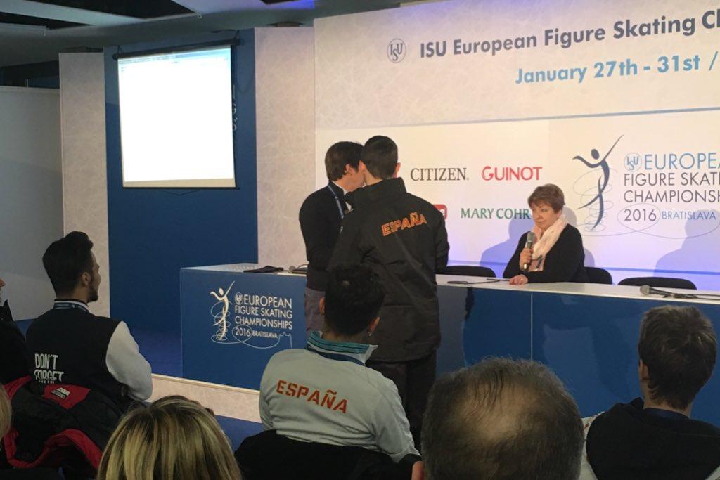 Europei Bratislava - programma corto maschile, ordine e orari discesa sul ghiaccio