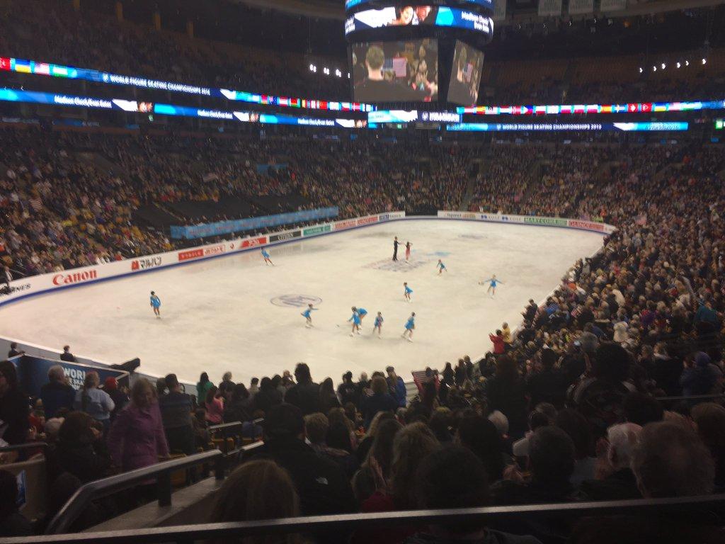 Mondiali Boston - programma corto coppie, ordine di discesa sul ghiaccio con orario
