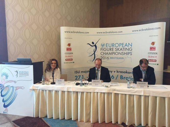 Il quadro degli iscritti agli imminenti Campionati europei di Bratislava