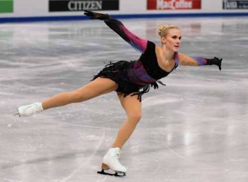 La svedese Isabelle Olsson invitata a Skate Canada