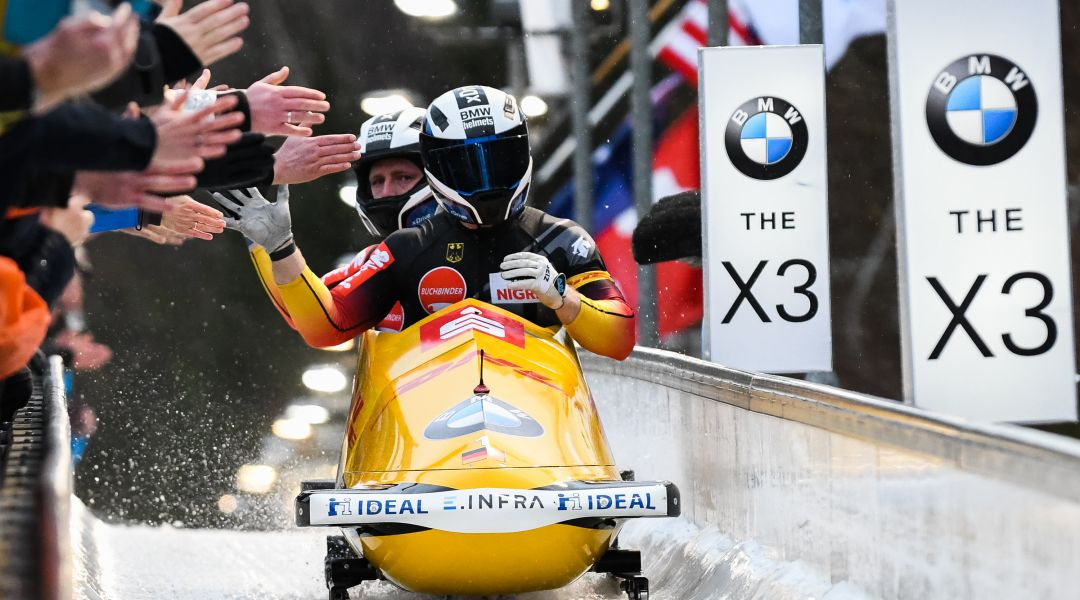 Francesco Friedrich fa la storia ad Altenberg! Sesto titolo iridato consecutivo e record di Monti battuto