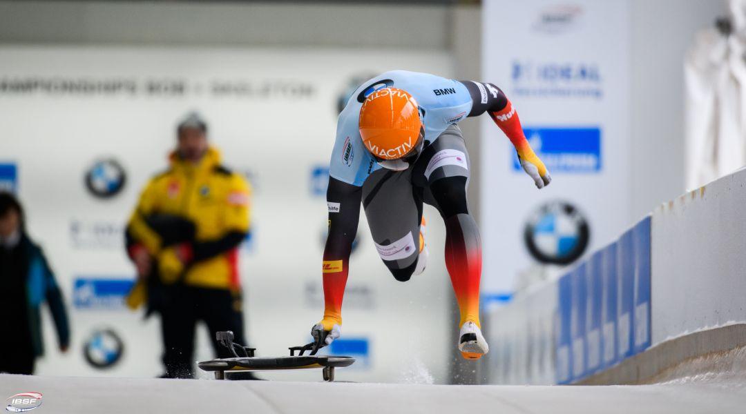Grotheer guida una storica tripletta tedesca ai campionati del mondo di Altenberg