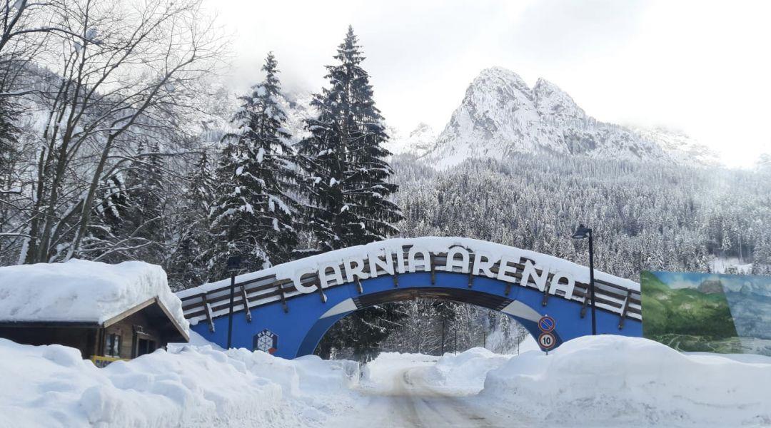 In 69 al via delle gare individuali OPA Alpen Cup di Forni Avoltri
