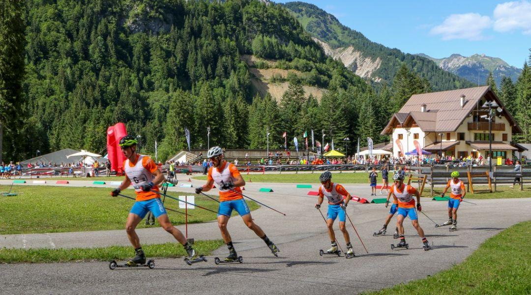 A settembre Pellegrino e compagni si daranno battaglia a Forni Avoltri per i titoli estivi di sci di fondo e skiroll