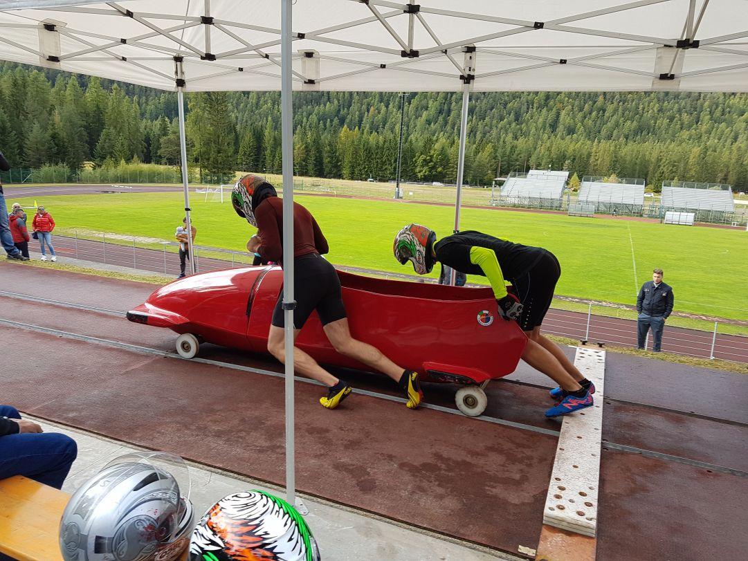 Ughi-Essoh, Margaglio e Bagnis si laureano a Cortina campioni italiani di spinta