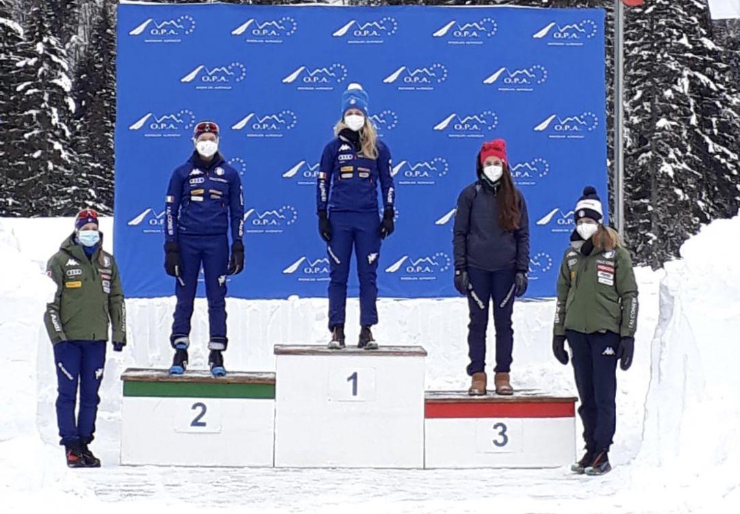 Federica Sanfilippo torna a ruggire: sua la sprint di 'OPA Alpen Cup di Forni Avoltri. Sara Scattolo domina la prova Youth