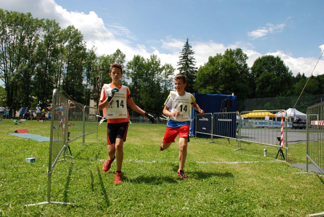 Vincitori gara giovani: Brenn Lucianaz (Granta Parey), Viktoriya Teliman (Bielorussia), Filippo Trancero (Valle Pesio) e Nicolò Betemps (Bionaz Oyace).