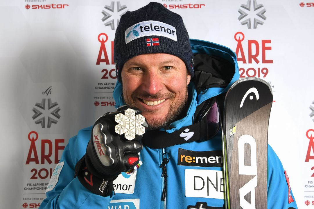 ARE, SWEDEN - FEBRUARY 9: Aksel Lund Svindal of Norway wins the silver medal during the FIS World Ski Championships Men's Downhill on February 9, 2019 in Are Sweden. (Photo by Alain Grosclaude/Agence Zoom/Getty Images)